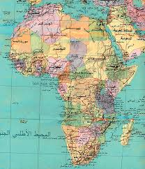 Physical Map Of Africa by African Studies Center Map U0026 Satellite Images