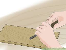 3 ways to copy a 3d wood carving wikihow