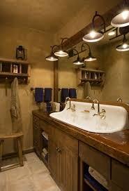 bathroom simple rustic bathroom vanity lighting decorate ideas