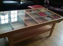 Display Coffee Table Ikea Granas Coffee Table Become Awesome Display Case Sideshow