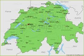 Map Of France And Switzerland by Switzerland Map Map Of Switzerland Annamap Com
