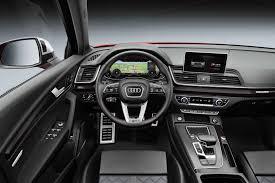 Audi Q5 Interior - a quick look at the 2018 audi q5 and sq5 uae yallamotor