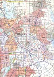 Downtown Dallas Map by Map Of Dallas Texas World Map