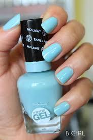 sally hansen miracle gel nail polish u0027b u0027 new favorite thing