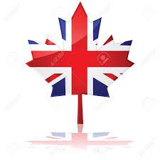 Maple Tree Symbolism by Flag Of Britain Shaped Like Canada U0027s Maple Leaf Symbolizing