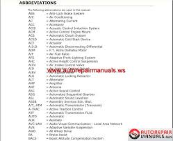 Toyota Highlander 2014 Workshop Manual Auto Repair Manual Forum