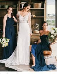 popular long sleeve vintage boho wedding dress buy cheap long