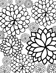 coloring pages flower coloring pages of flowers coloring for kids