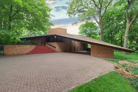 Frank Lloyd Wright Plans For Sale by Frank Lloyd Wright U2013designed House Listed In St Louis Park Minn