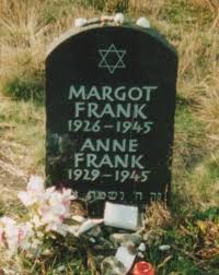 Anne and Margot's grave
