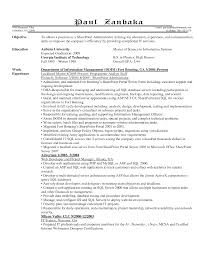 Technical Sales Resume Examples 100 Administrative Resume Samples Free Administration