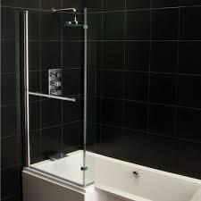 genesis vermont u0027l u0027 shaped shower bath screen u0026 front panel