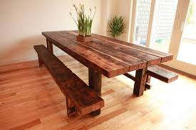 interesting design farmhouse dining table with bench prissy ideas