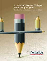 Evaluation of Ohio     s EdChoice Scholarship Program  Selection     The Thomas B  Fordham Institute