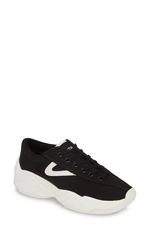 Tretorn Nylite Fly Canvas Black / Vintage White Ankle-High Fabric Sneaker 7.5M