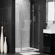 Shower Tile Ideas Small Bathrooms by Bathroom Spacious Small Bathroom Shower Design With Glass Door