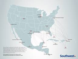 Latam Map Southwest Airlines Crosses The 100 Flight Milestone To Latin