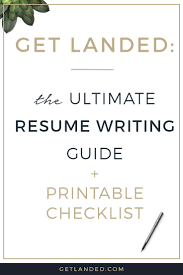 All the best resume writing tips in one place  The ultimate resume writing guide and Pinterest