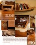 Unique Modern Style Design for Cardboard Chair and Bookshelf ...