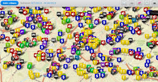 Crime Map By Zip Code by Cmpd Offers More User Friendly Crime Monitoring Wfae