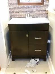 Glacier Bay Bathroom Vanity by Glacier Bay Candlesby 36 1 2 In W X 18 3 4 In D Bath Vanity In