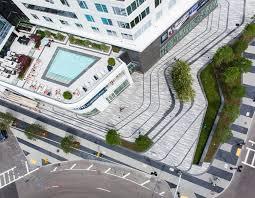 Urban Landscape Design by Mikyoung Kim Design Pier 4 Plaza In Boston U0027s Seaport District