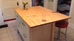diy kitchen islands ikea kitchen islands hack diy kitchen island