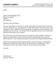 Administrative Assistant Cover Letter   Job Interviews Thiq   philbrooksmma com