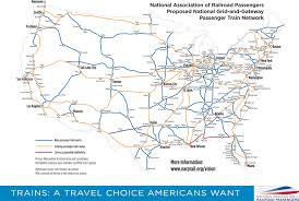 Large Map Of Florida by Narp U0027s Vision For Trains In America National Association Of