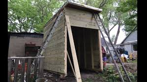 Smith Built Shed by Diy Shed In 4 Days Without Plans Complete Build Youtube