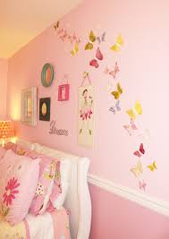 Girls Bedroom Gabriella Glamorous Painting Bedroom Design With Landscapes Walls Also Gold