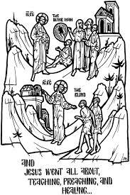 john 9 sunday lesson jesus heals a man born blind the