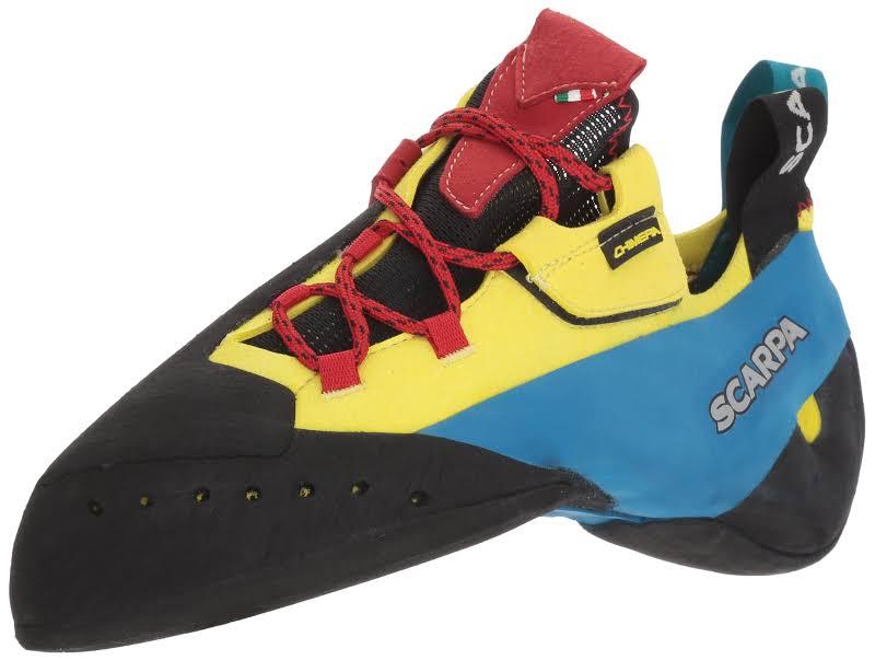 Scarpa Chimera Climbing Shoes Yellow Medium 44.5 70052/000-Yel-44.5