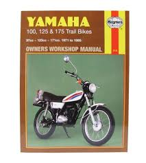 yamaha dt 175 mx 1973 85 175 cc haynes workshop manual ebay