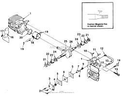 homelite xl chain saw ut 10655 parts diagrams