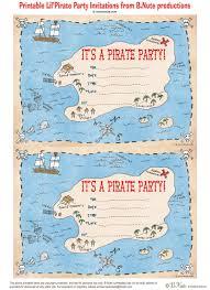 Printable Invitation Card Stock Bnute Productions Free Printable Pirate Party Invitations