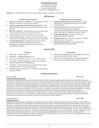 Sample Personal Trainer Resume by Training Resume Chris Lyons