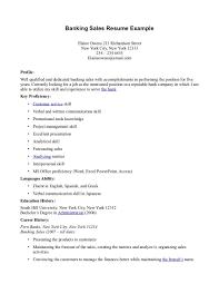 Banker Resume Example by Inside Electrical Sales Maintenance Resume Resume Demolition