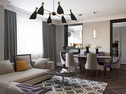 purple and brass dining room theme gorgeous art deco wallpaper