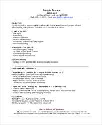 Inventory Specialist Resume Sample by 18 Sample Resume Objectives Free Sample Example Format Free