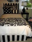 Black And White Damask Bedding Facts Guides About - Quoteko.