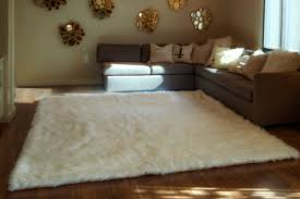 decor fill your home with chic fur rug for floor decoration ideas