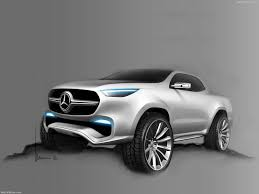 mercedes benz x class pickup concept 2016 pictures