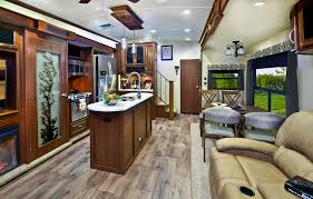 Fifth Wheel Bunkhouse Floor Plans Fifth Wheel Rv With Front Bathroom 369rl Ms Travel Trailers Two