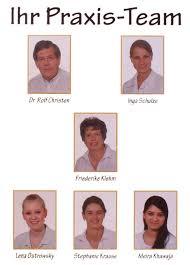 Zahnärztliche Gemeinschaftspraxis Dr. Rolf Christen / Inga Schulze - team