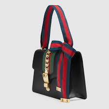 sylvie leather shoulder bag gucci women u0027s handbags 421882cvleg8638