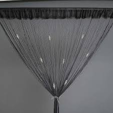 beaded room dividers new door room divider crystal beaded fringe string curtain drape