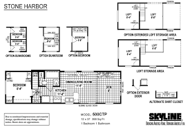 1 Bedroom Modular Homes Floor Plans by Manufactured Homes Home