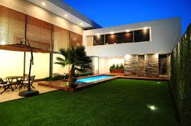 Modern Landscaping Ideas For Small Backyards The Garden Inspirations - Contemporary backyard design ideas