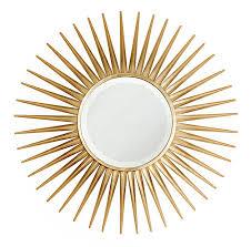 pretty sunburst mirrors as wall decorations ideas decorating